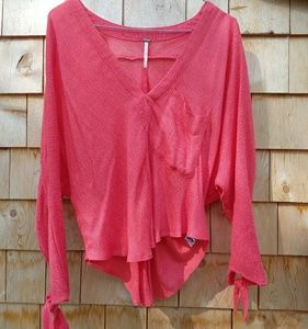 Free People Batwing Style Top